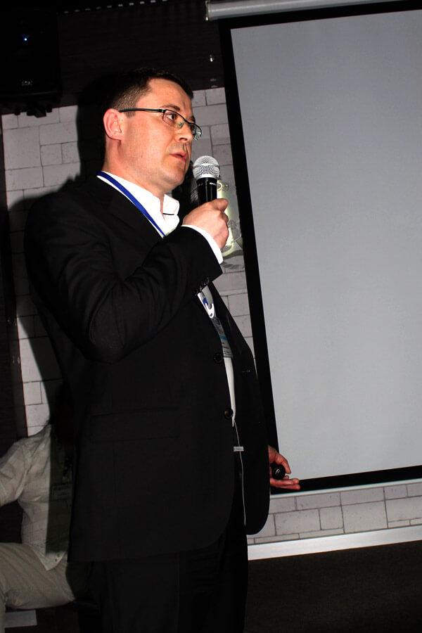 Выступление Славина на научно-практической конференции Ассоциации флебологов России
